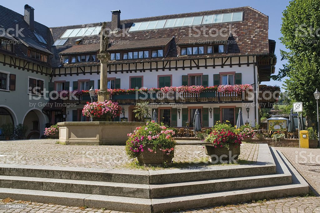 house of Saint Peter in the Black Forest royalty-free stock photo