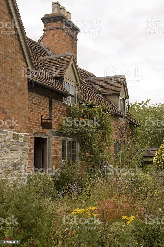 House of Shakespeare's Mother, Warwickshire royalty-free stock photo