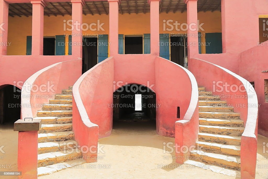 House of Slaves-Maison des Esclaves. Goree island-Dakar-Senegal. 1852 stock photo