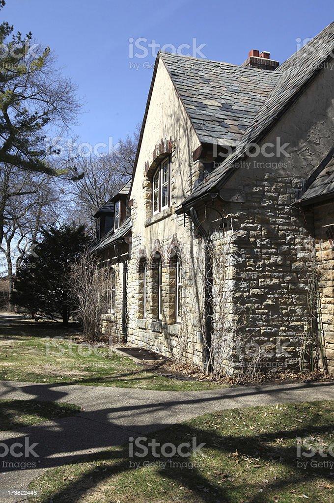 House of Stone stock photo