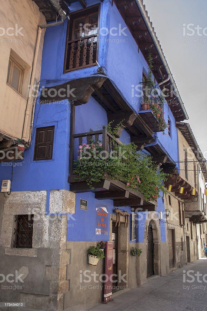 House of the Dolls, Garganta la Olla, Extremadura, Spain royalty-free stock photo