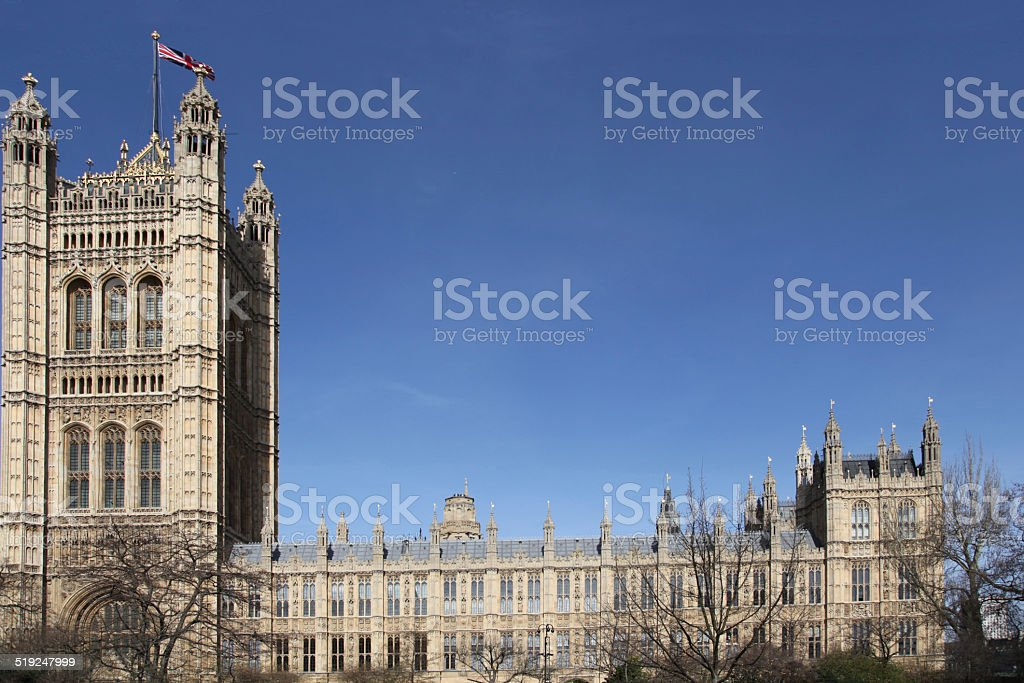 house of the lords stock photo