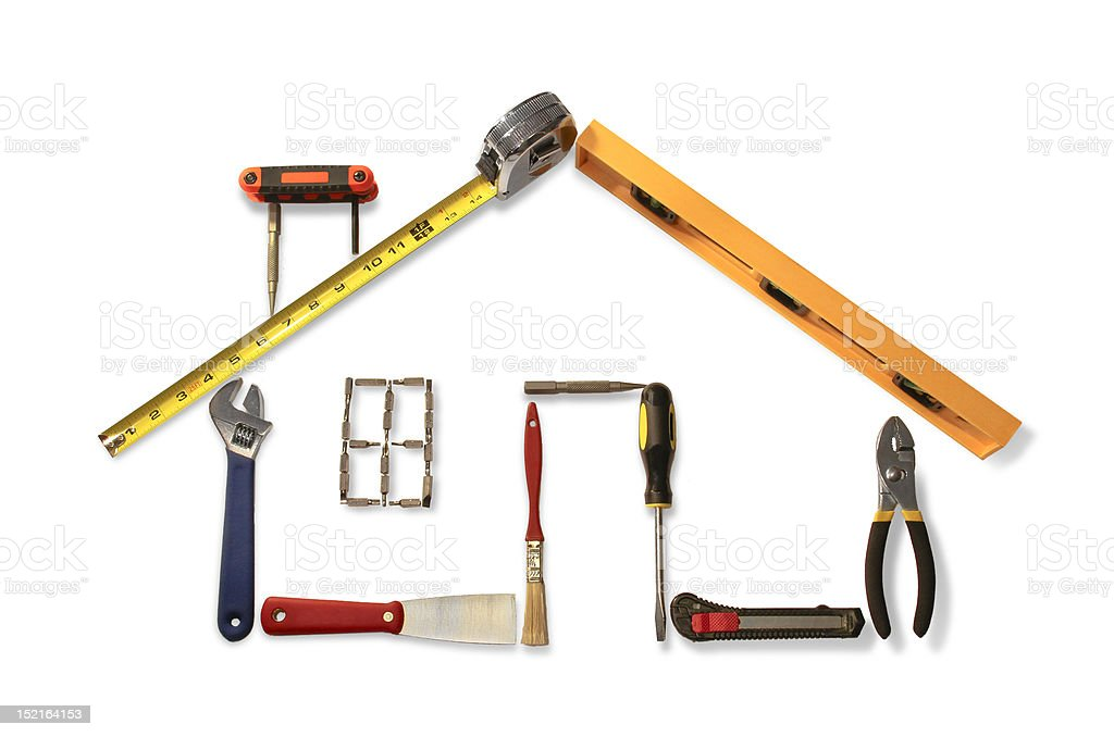 House of Tools stock photo