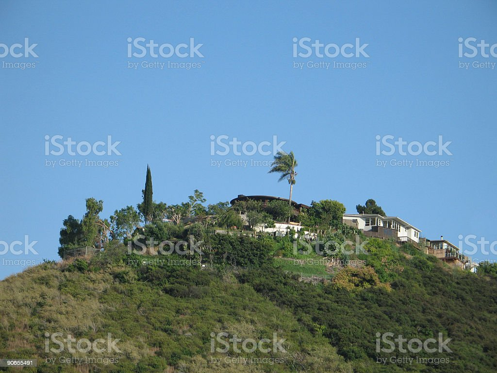 House On A Hill royalty-free stock photo