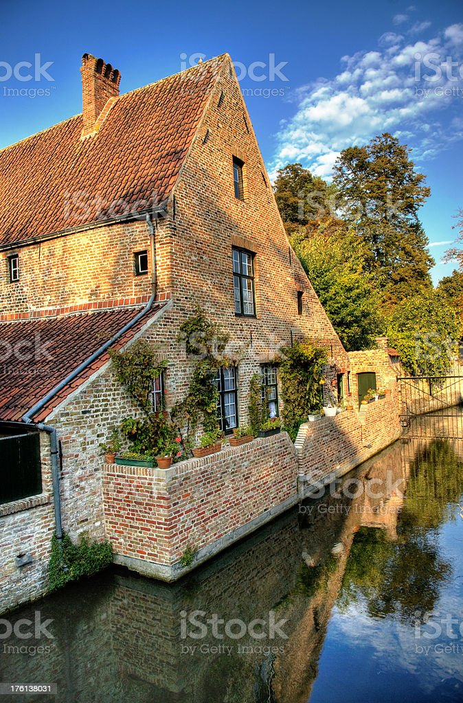 House on the Canal royalty-free stock photo