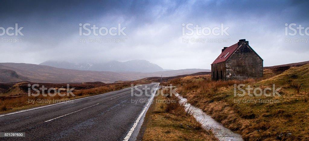 House on The Fain stock photo