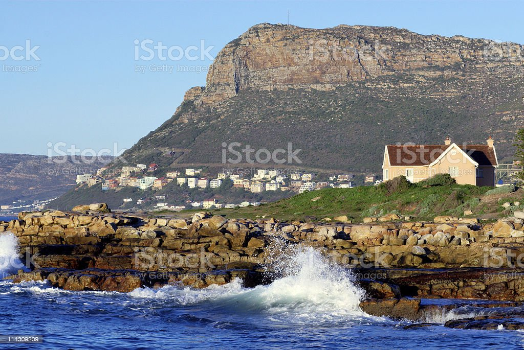 House on the rocks royalty-free stock photo