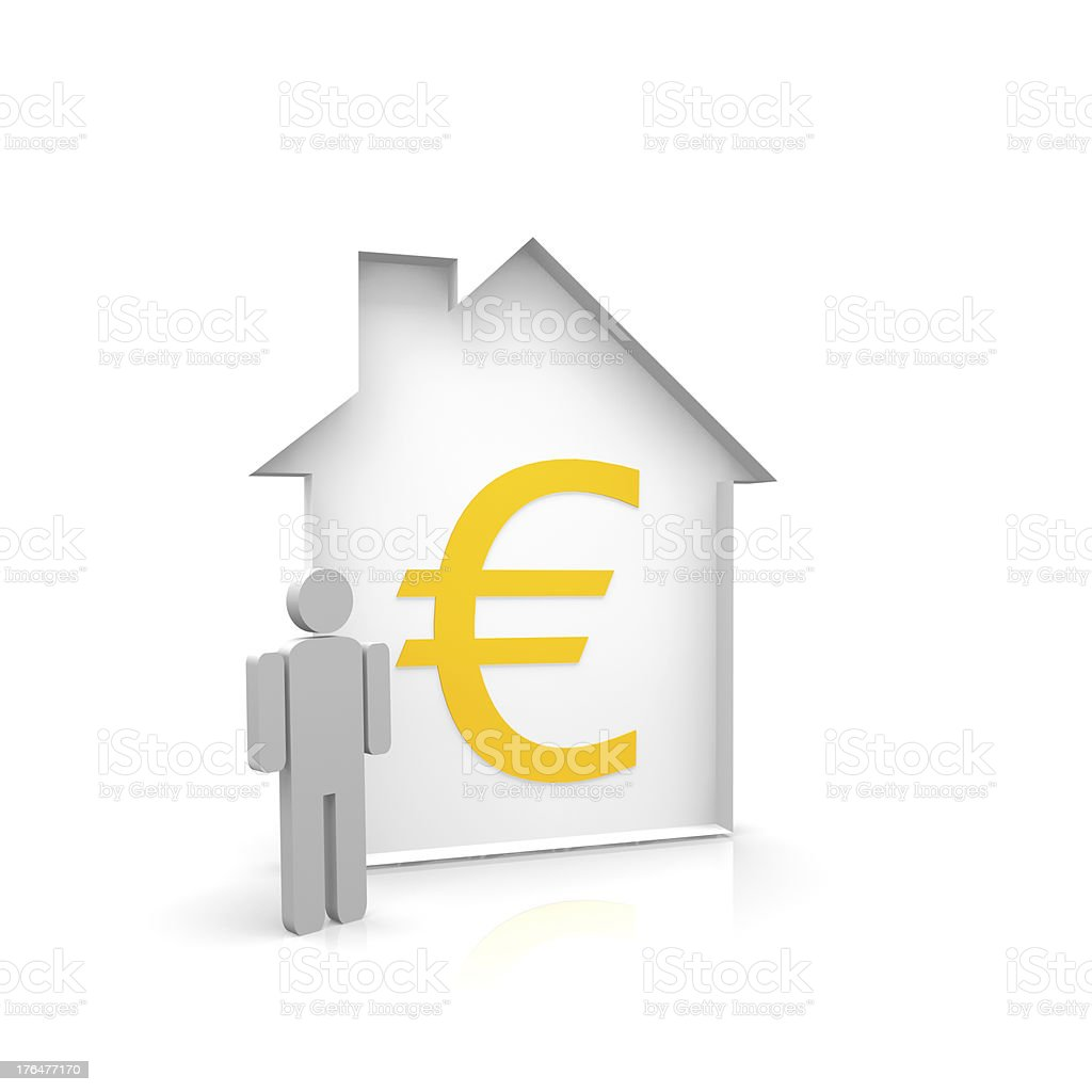 House owner royalty-free stock photo