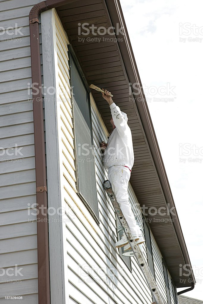House Painter Full Body royalty-free stock photo