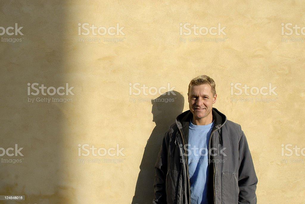 House Painter Portrait stock photo