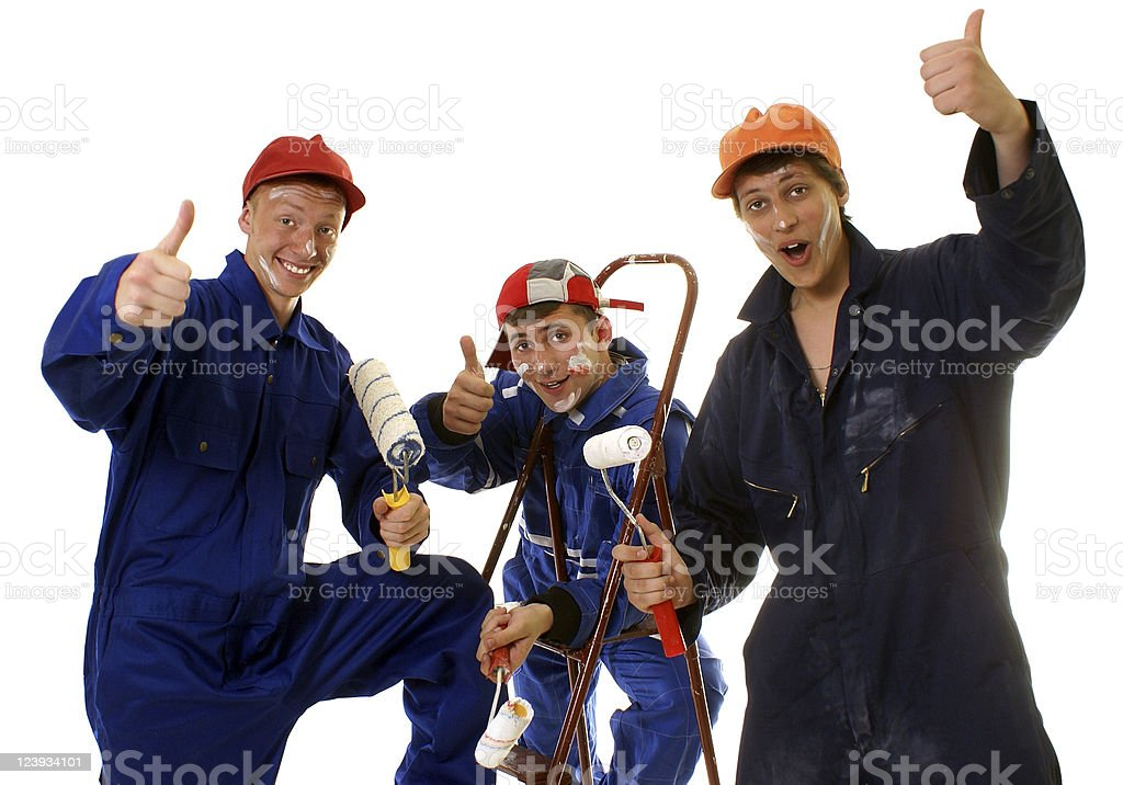 House painters royalty-free stock photo