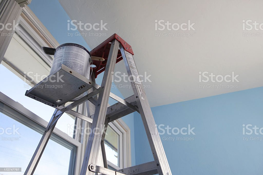 House Painting royalty-free stock photo