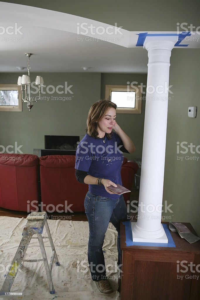 House Painting stock photo