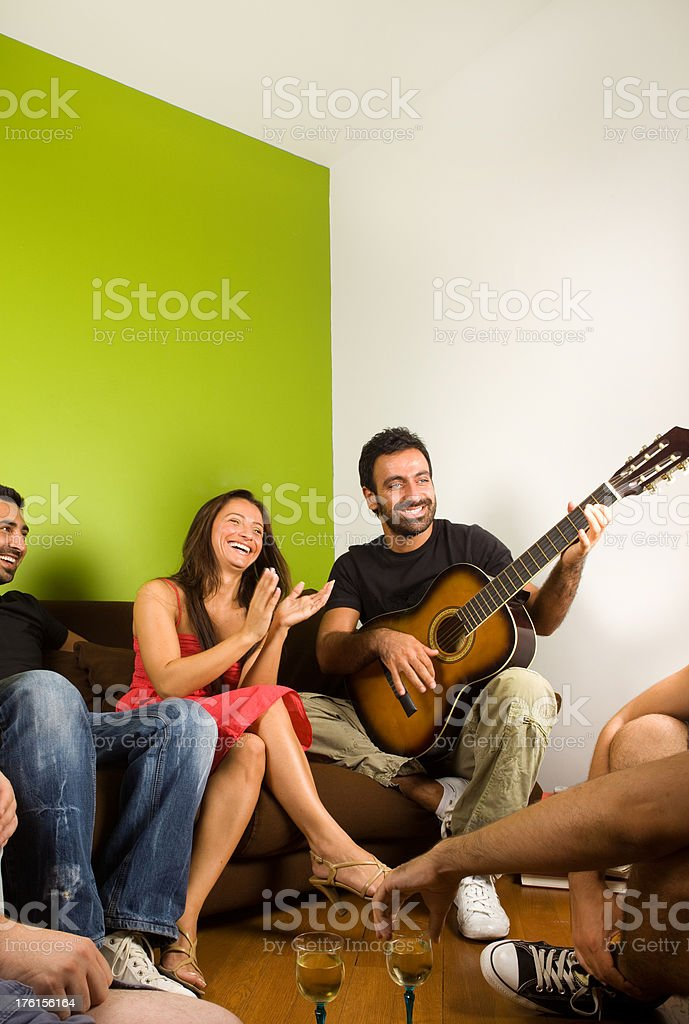 House party royalty-free stock photo