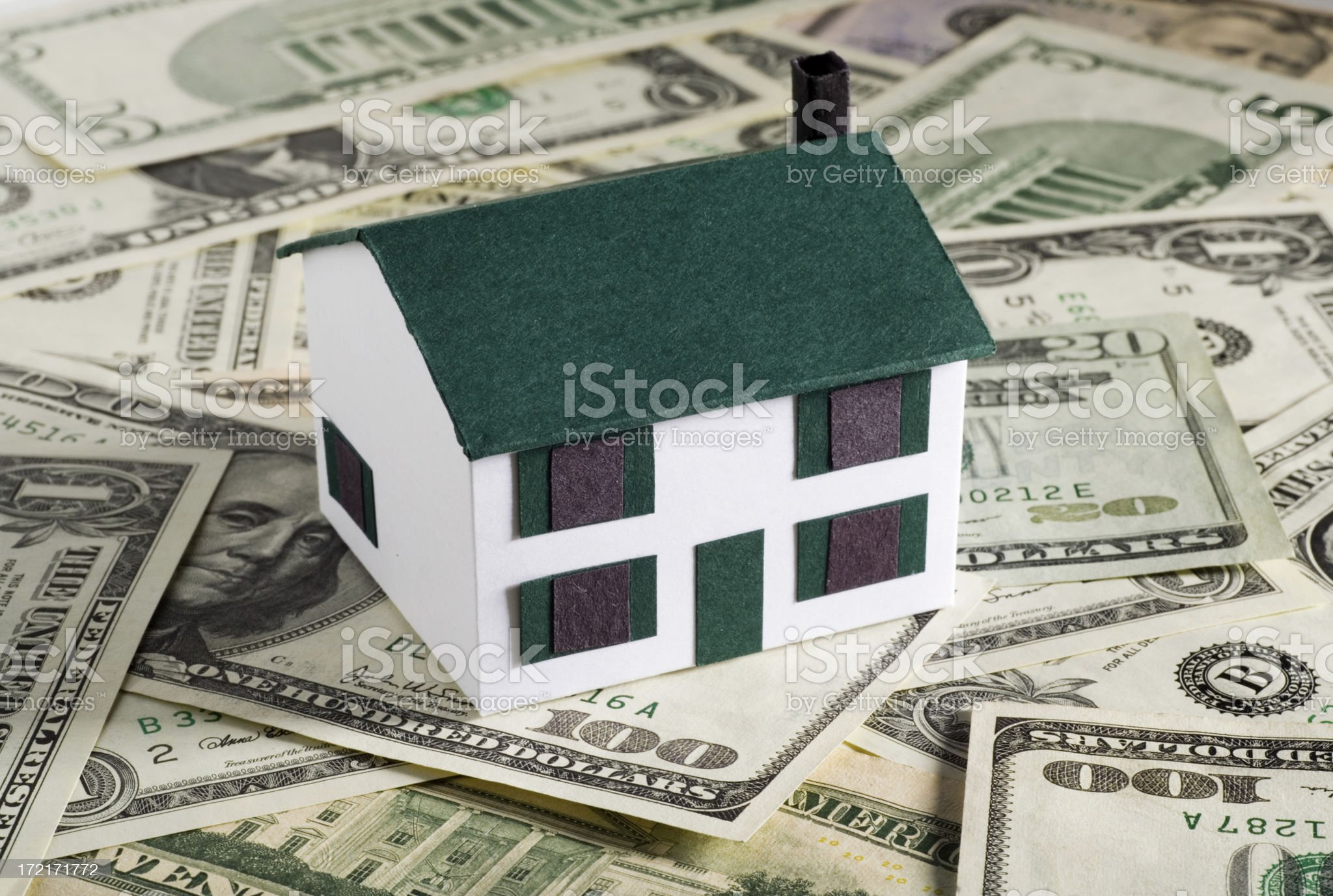 House Payments royalty-free stock photo