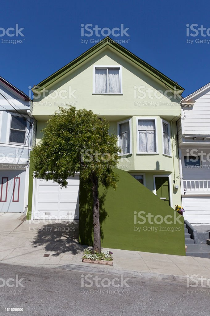 SF House stock photo