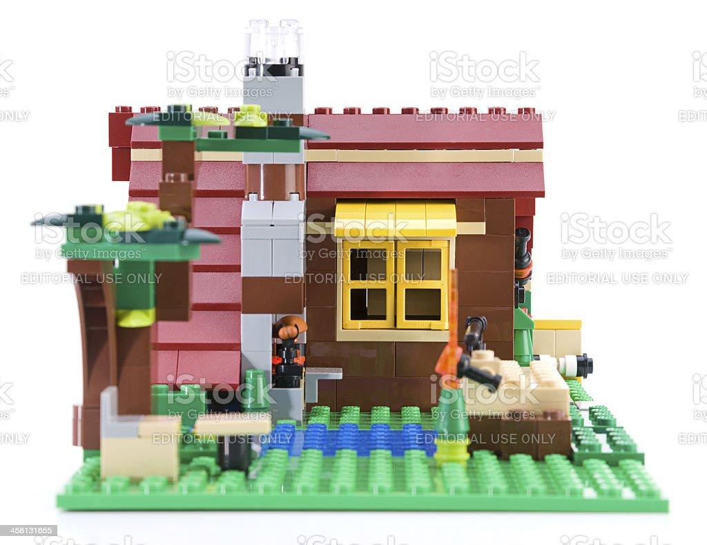 LEGO House royalty-free stock photo