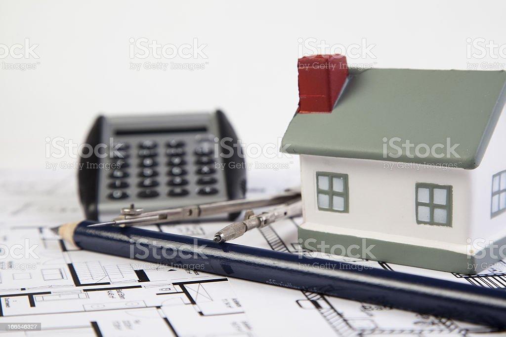 house planing stock photo