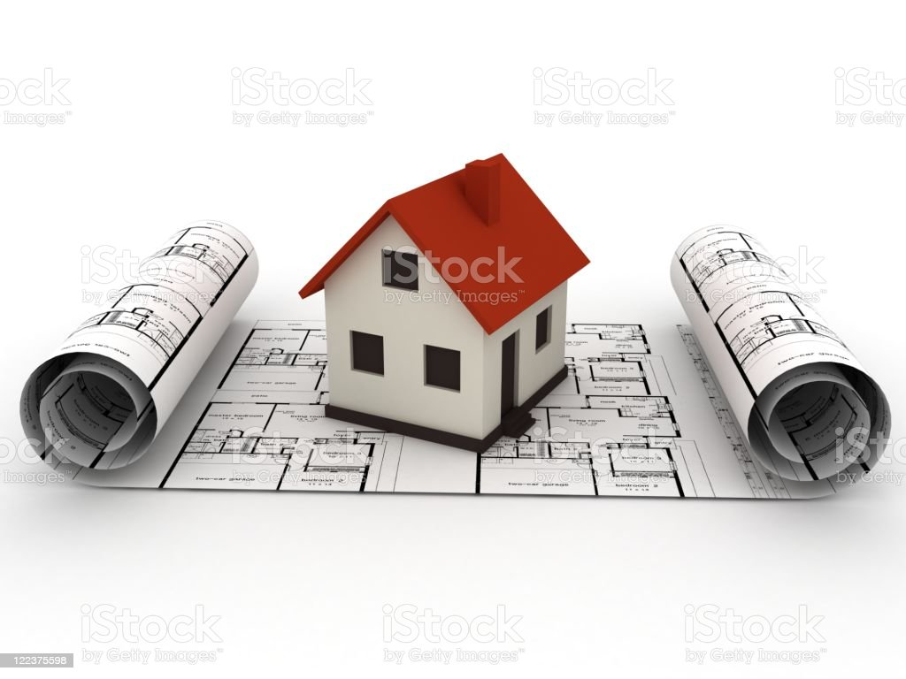 House Planning Concept royalty-free stock photo