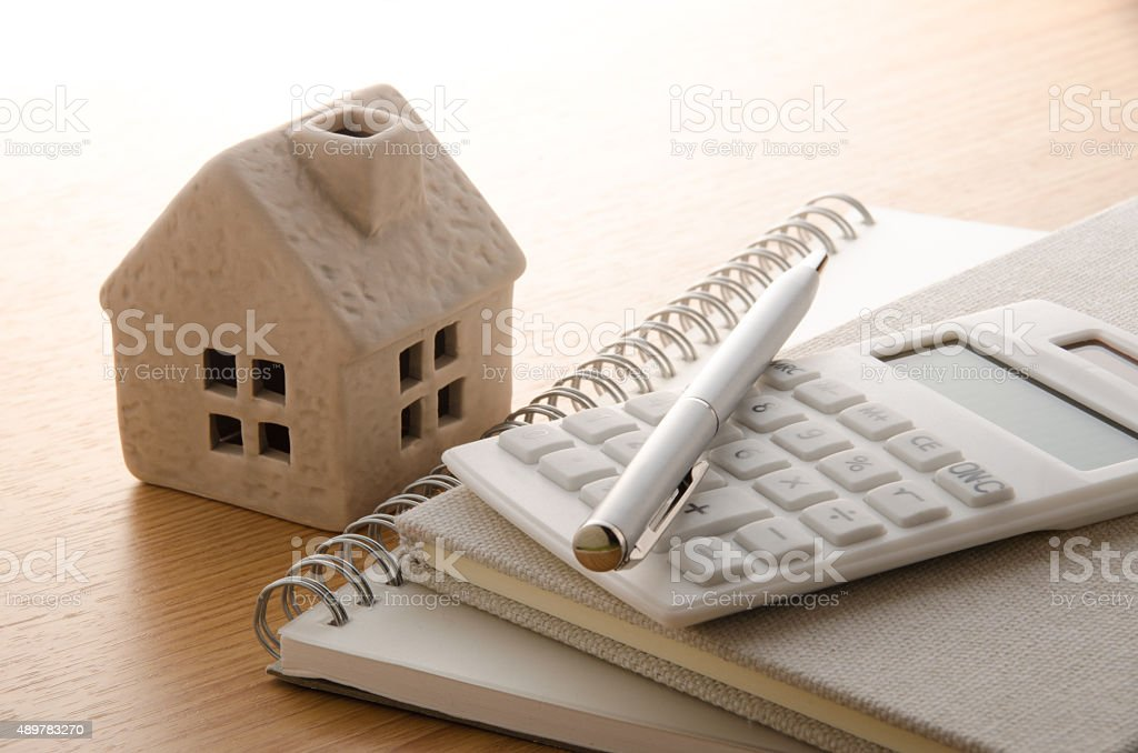 House planning stock photo