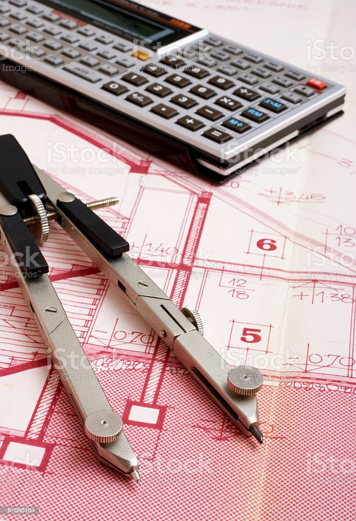 House Planning royalty-free stock photo