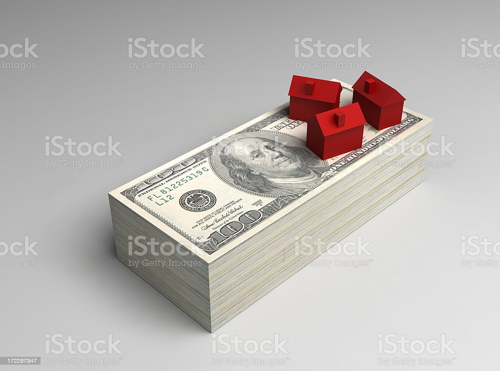 House Prices (mortgage concept) stock photo