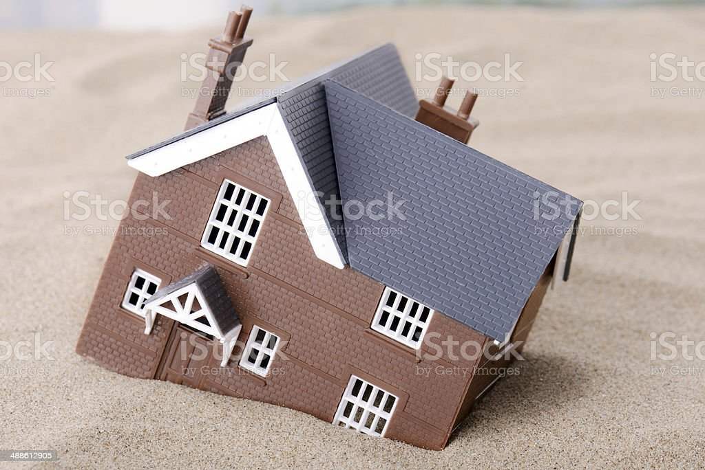 House problems stock photo