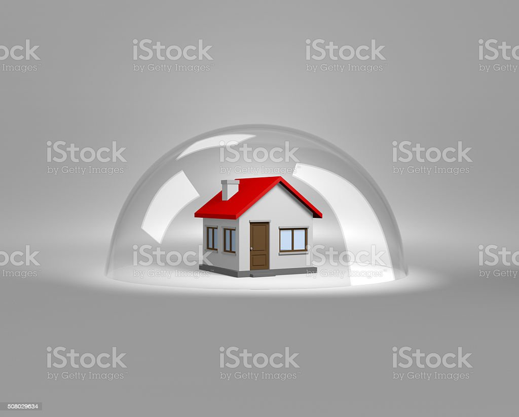 House Protection stock photo
