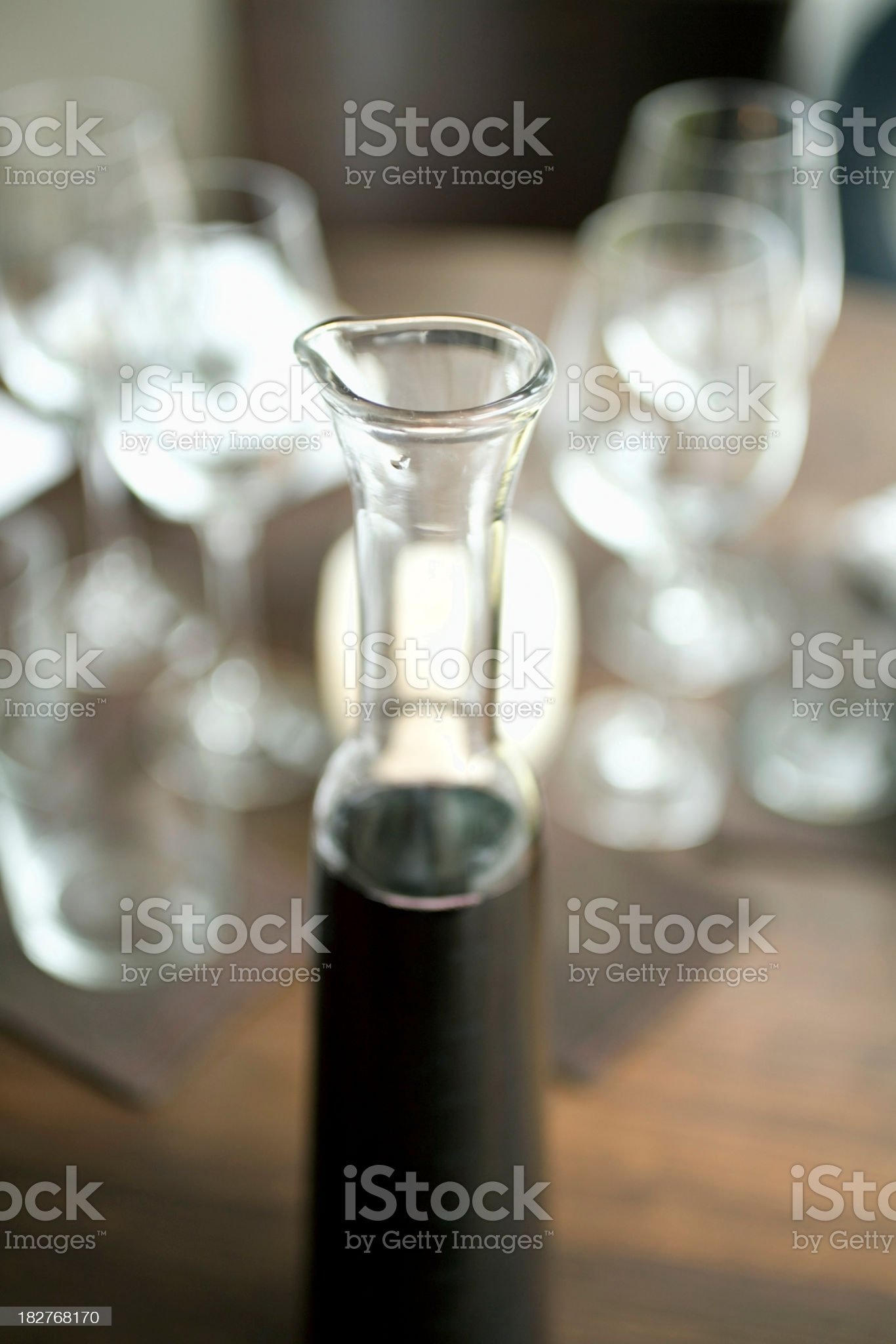House red wine royalty-free stock photo