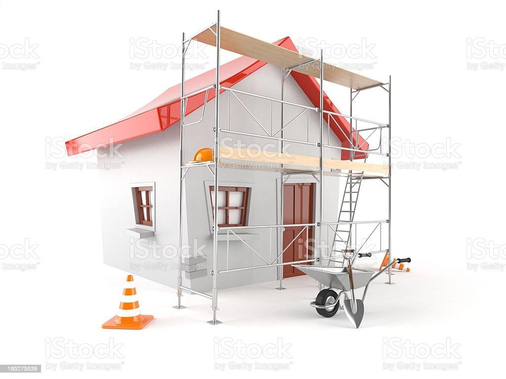 House renovation royalty-free stock photo