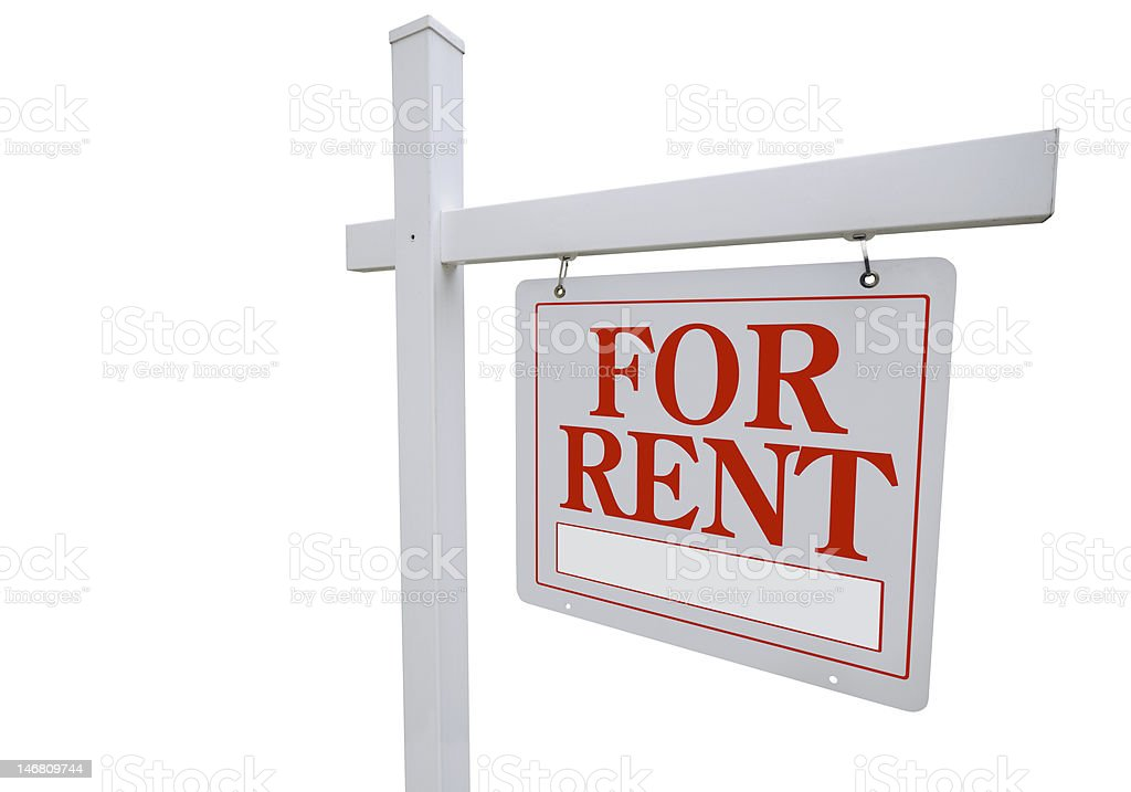 House Rental royalty-free stock photo