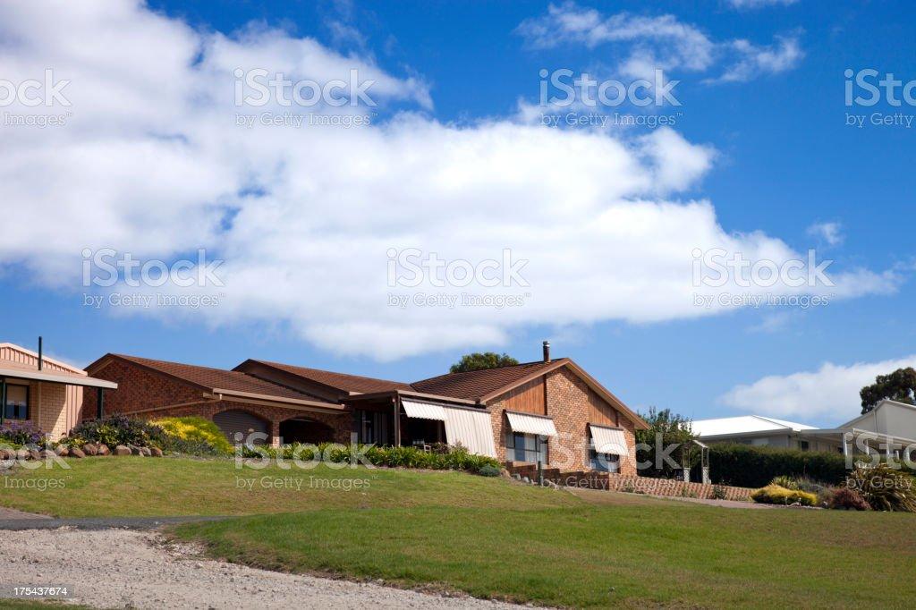 House rental stock photo