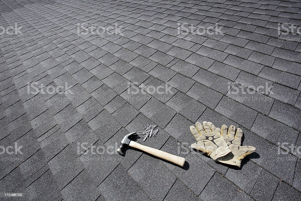House repair stock photo