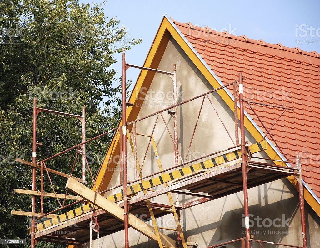 house repairing royalty-free stock photo