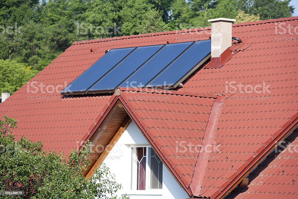 House Roof royalty-free stock photo