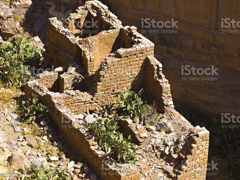 House ruins royalty-free stock photo
