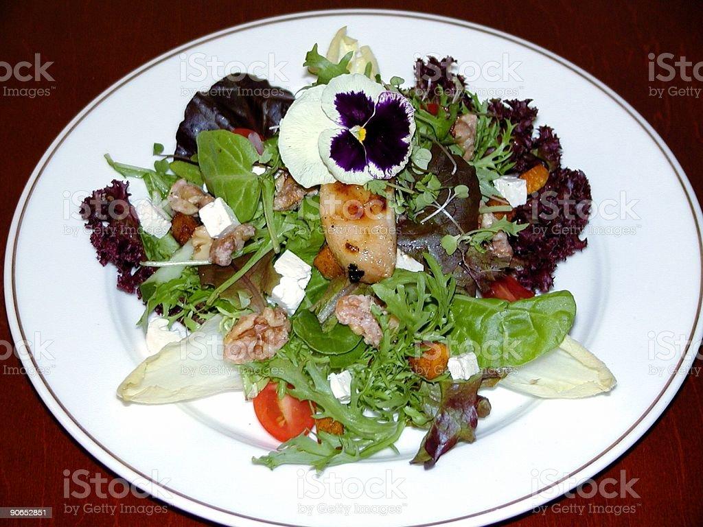 House Salad royalty-free stock photo