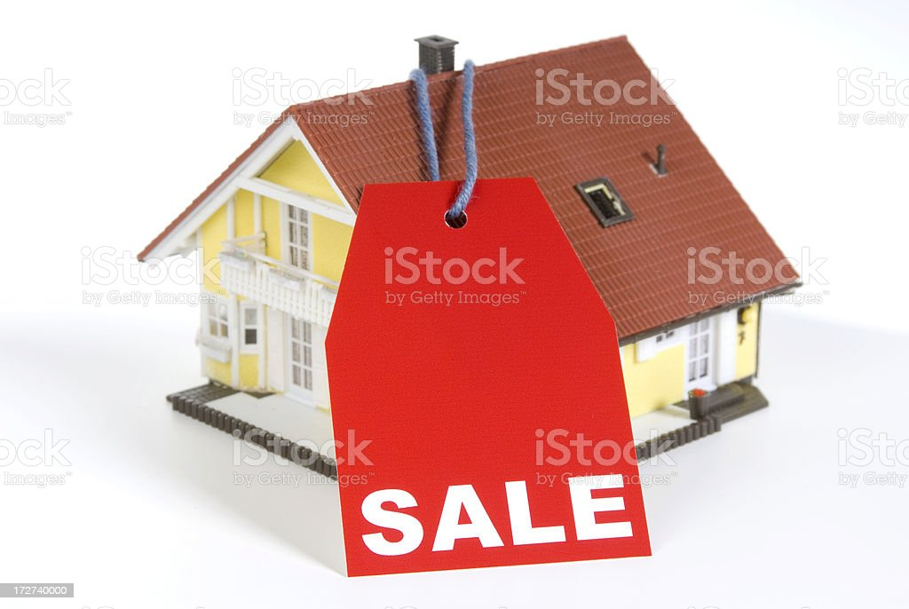 House Sale royalty-free stock photo