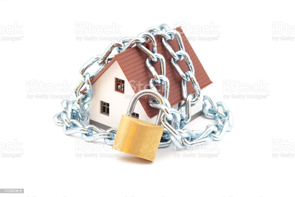 House Security royalty-free stock photo