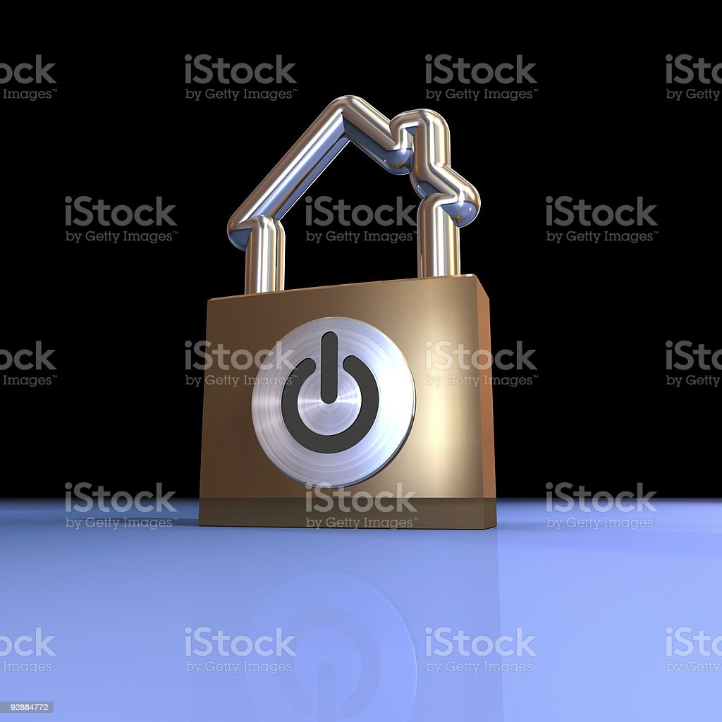 house security system royalty-free stock photo