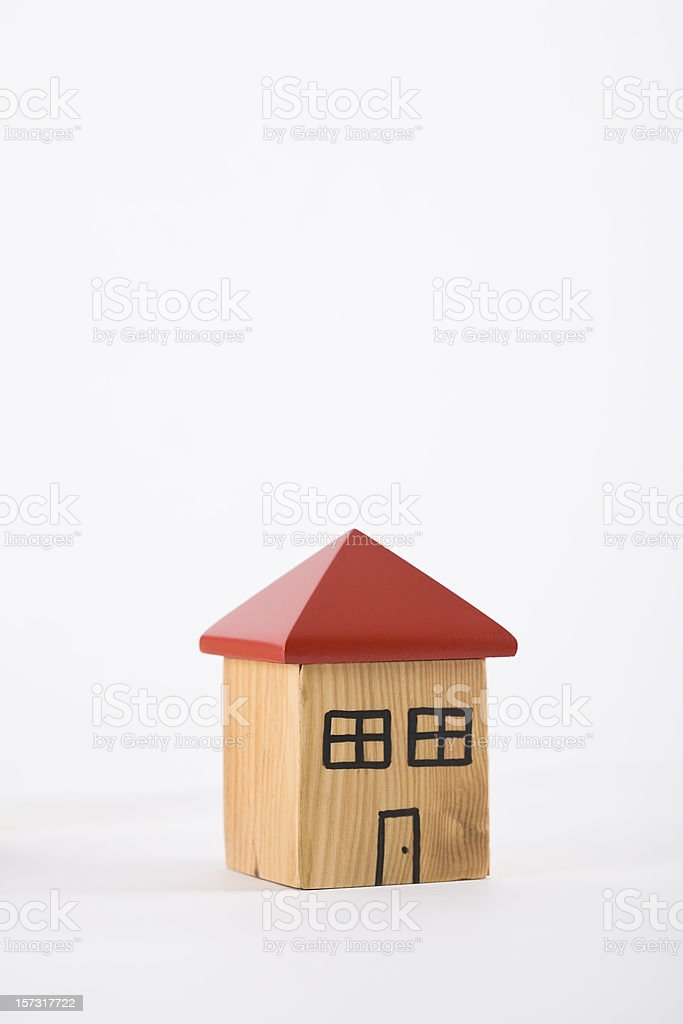 House series stock photo