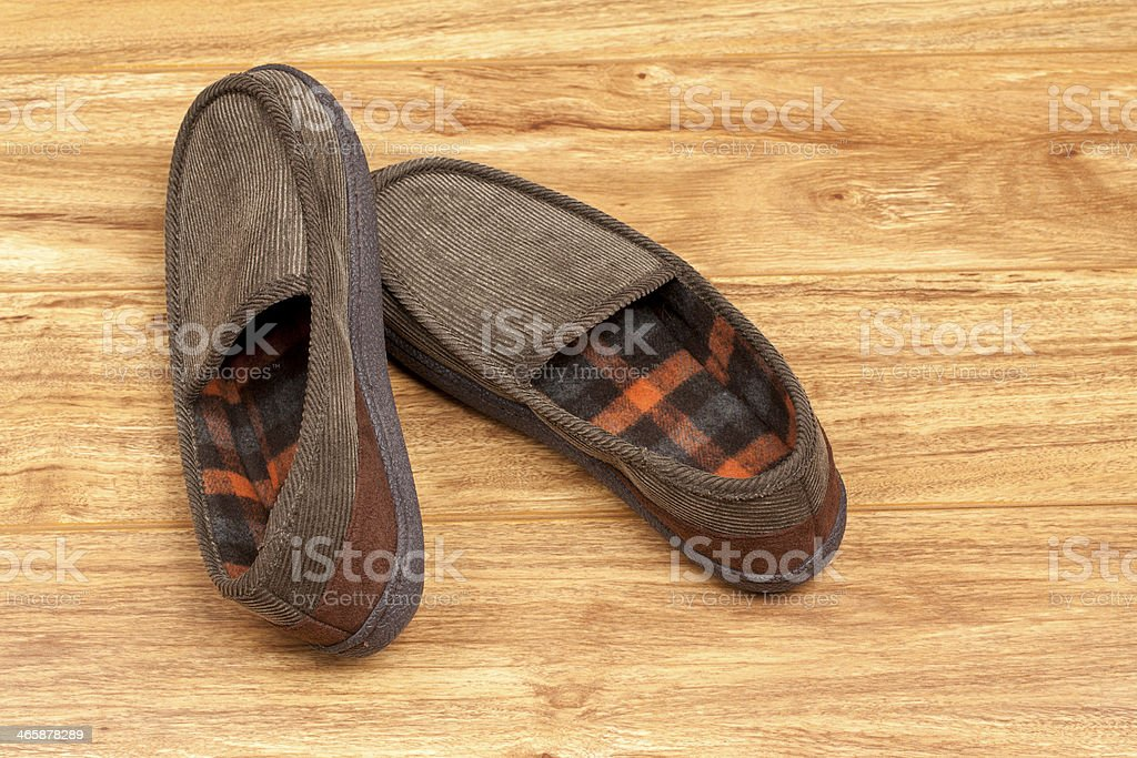 House Shoes royalty-free stock photo