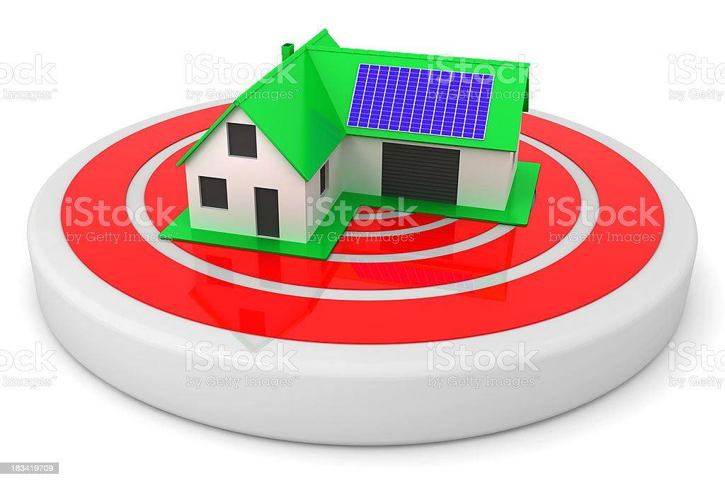 House target concept royalty-free stock photo