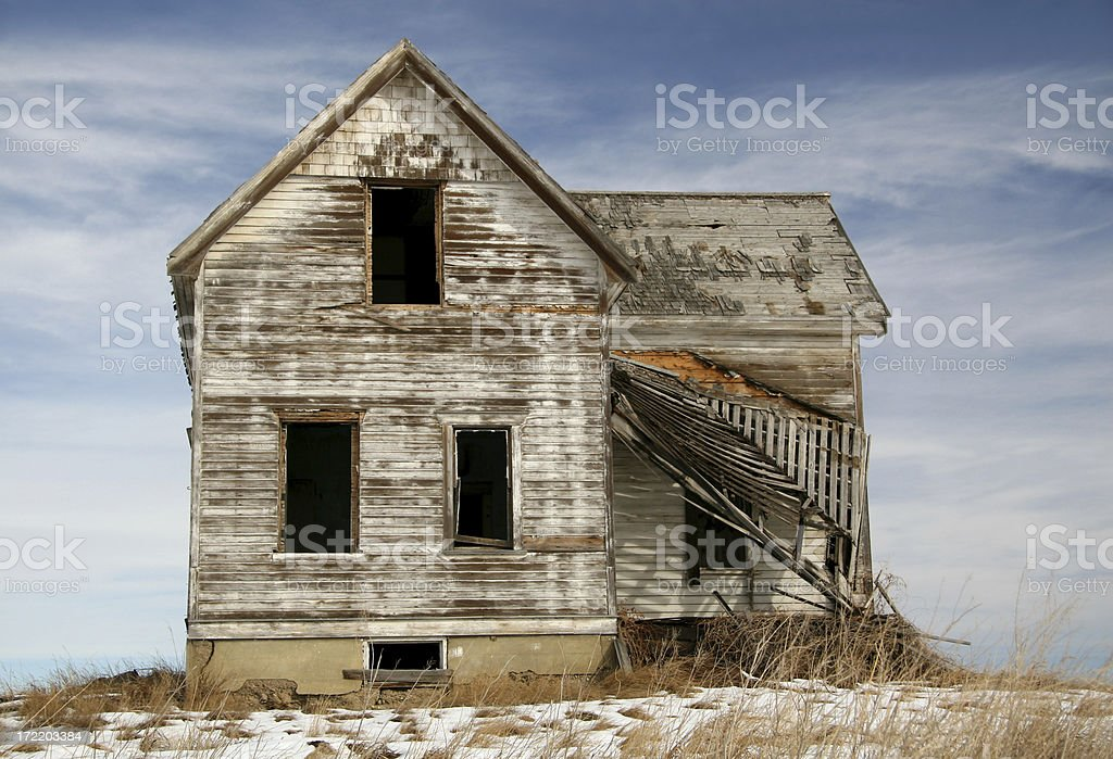 House That Needs Some Work royalty-free stock photo