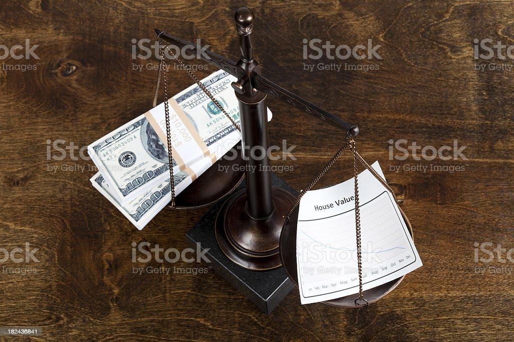 House value royalty-free stock photo