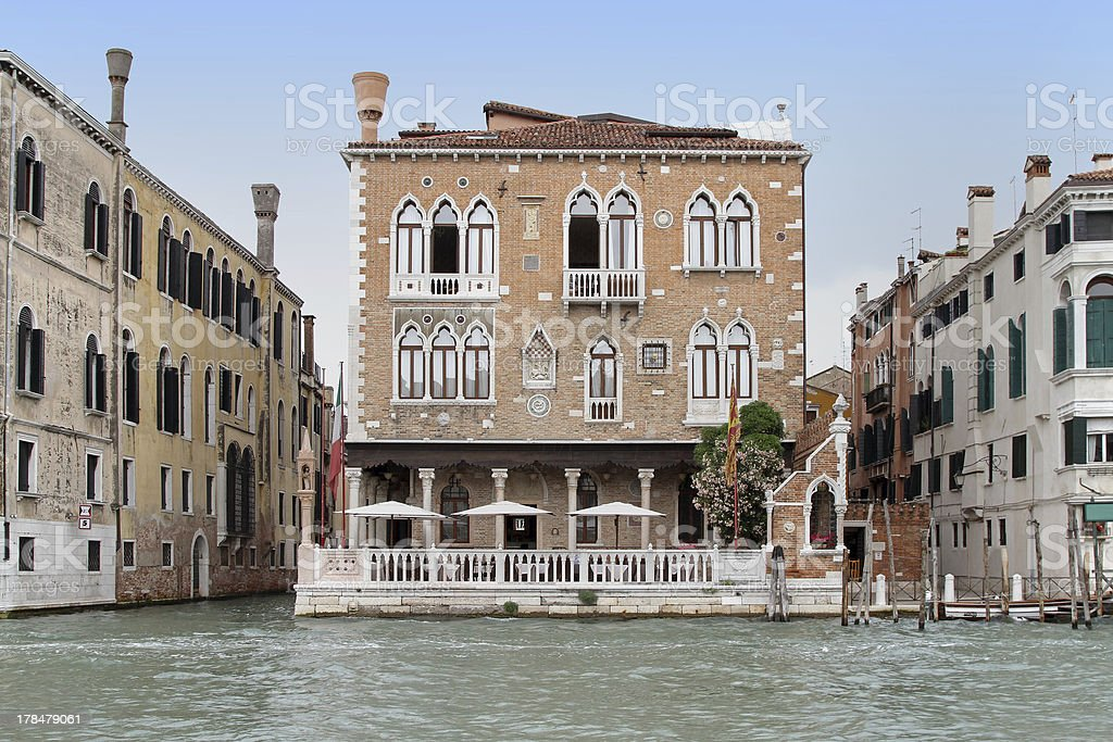 House Venice royalty-free stock photo