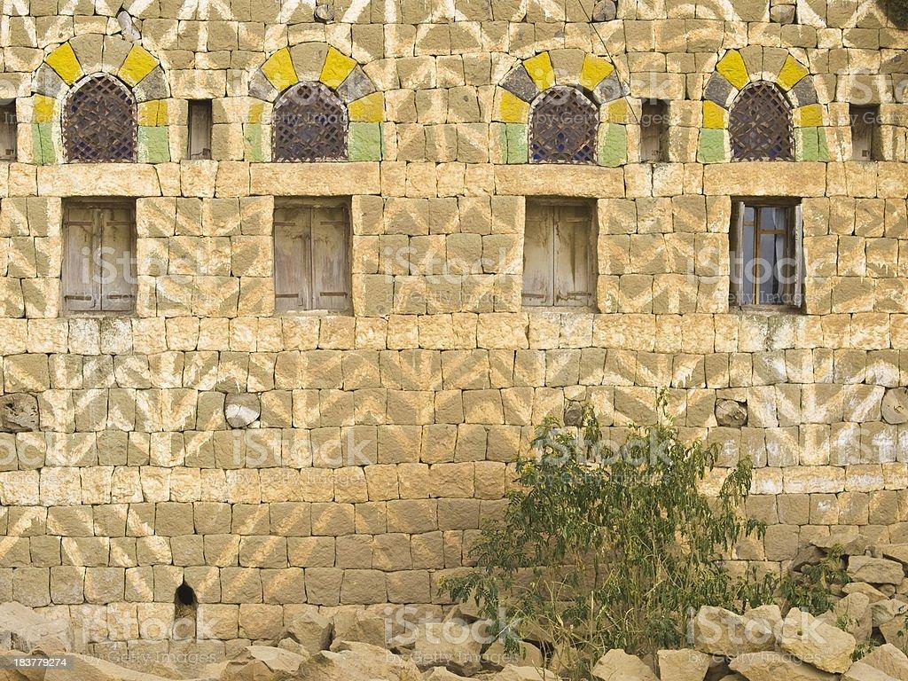 house wall royalty-free stock photo