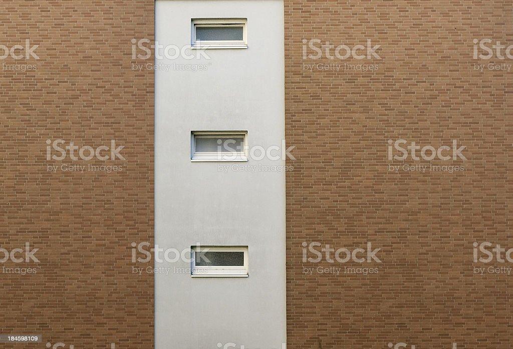 House wall stock photo