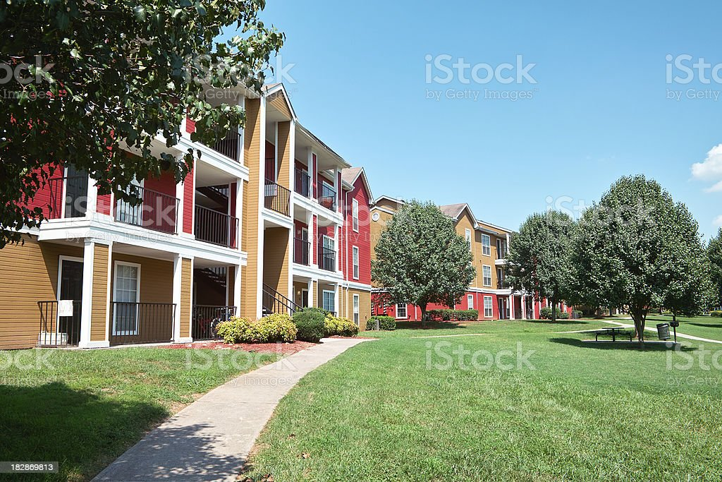 house with garden royalty-free stock photo