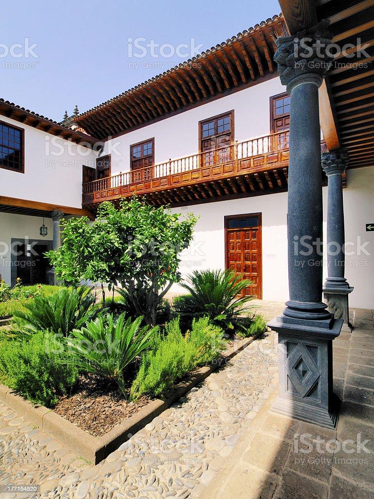 House Yard royalty-free stock photo